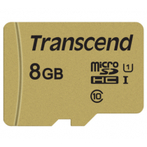 Картка пам'яті Transcend GUSD500S 8GB UHS-I U1 microSD with Adapter (TS8GUSD500S)