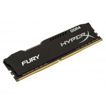 Оперативна пам'ять Kingston HyperX FURY 4ГБ DDR4 2400МГц CL15 DIMM Чорна (HX424C15FB3/4)