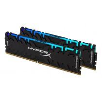 Набір модулів пам'яті для ПК Kingston 32GB Kit (2x16GB) 3200MHz DDR4 CL16 DIMM XMP HyperX Predator RGB (HX432C16PB3AK2/32)