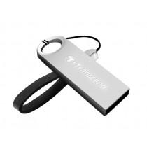 Флеш-накопичувач Transcend 8GB USB 2.0 JetFlash 520S Silver (TS16GJF520S)