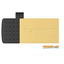 Transcend 16GB USB 2.0 OTG JetFlash380 Gold Plating