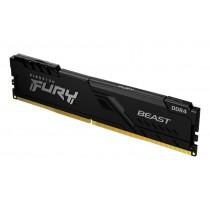 4GB 3200MHz Kingston FURY Beast Black оперативна пам'ять DDR4  DIMM (KF432C16BB/4)