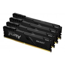 128GB 3000MHz Kingston FURY Beast Black оперативна пам'ять DDR4  DIMM (KF430C16BBK4/128)