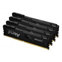 16GB 3200MHz Kingston FURY Beast Black оперативна пам'ять DDR4  DIMM (KF432C16BBK4/16)