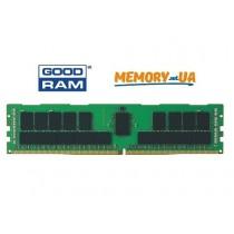 Модуль пам'яті GoodRAM 4ГБ 1600МГц DDR3 ECC Реєстровий RDIMM