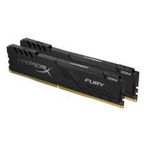 Комплект модулів оперативної пам'яті для ПК Kingston HyperX FURY 32ГБ (Комплект 2x16ГБ) DDR4 2666МГц CL16 DIMM (HX426C16FB4K2/32)