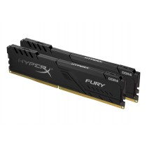 Комплект модулів оперативної пам'яті для ПК Kingston HyperX FURY 64ГБ (Комплект 2x32ГБ) DDR4 3466МГц CL17 DIMM (HX434C17FB3K2/64)