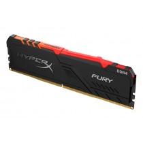 Оперативна пам'ять Kingston HyperX FURY RGB 16ГБ DDR4 3000МГц - HX430C16FB4A/16