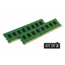Оперативна пам'ять Kingston 8ГБ DDR4 2666МГц (Комплект з 2 модулів) - KVR26N19S6K2/8
