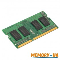 Оперативна пам'ять Kingston 2GB DDR3L SODIMM (KVR16LS11S6/2)