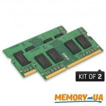 Оперативна пам'ять Kingston 8GB DDR3L SODIMM (KVR16LS11K2/8)
