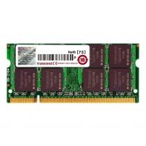 Оперативна пам'ять Transcend 512МБ DDR2 667МГц CL5 1Rx8 Non-ECC Unbuffered SODIMM (TS128MPQ32V6U)
