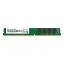 Оперативна пам'ять Transcend 8ГБ DDR4 2666МГц CL19 1Rx8 ECC Unbuffered VLP DIMM (TS1GLH72V6BL)