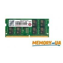 Модуль пам'яті для серверу Transcend 8GB 2400MHz DDR4 ECC CL17 SODIMM (TS1GSH72V4B)