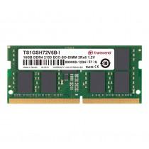 Оперативна пам'ять Transcend 8ГБ DDR4 2666МГц CL19 1Rx8 ECC Unbuffered SODIMM (TS1GSH72V6B-I)