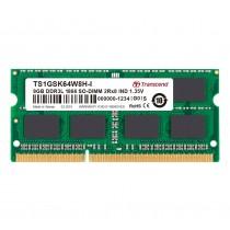 Оперативна пам'ять Transcend 8ГБ DDR3L 1866МГц CL13 2Rx8 Non-ECC Unbuffered 1.35В SODIMM (TS1GSK64W8H-I)