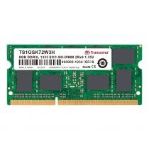 Оперативна пам'ять Transcend 8ГБ DDR3L 1333МГц CL9 2Rx8 ECC Unbuffered 1.35В SODIMM (TS1GSK72W3H)