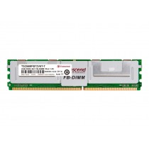Оперативна пам'ять Transcend 2ГБ DDR2 667МГц CL5 1Rx4 ECC Fully Buffered DIMM (TS256MFB72V6T-T)