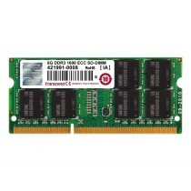 Оперативна пам'ять Transcend 2ГБ DDR3 1600МГц CL11 1Rx8 ECC Unbuffered SODIMM (TS256MSK72V6N)