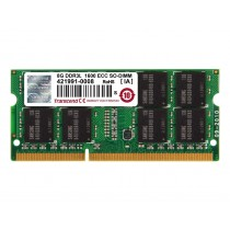 Оперативна пам'ять Transcend 2ГБ DDR3L 1600МГц CL11 1Rx8 ECC Unbuffered SODIMM (TS256MSK72W6N)
