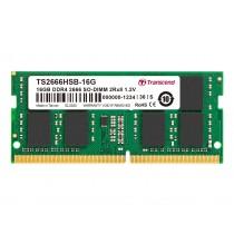 Оперативна пам'ять Transcend 16ГБ DDR4 2666МГц Non-ECC SODIMM (TS2666HSB-16G)
