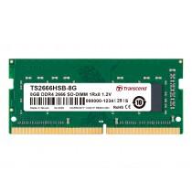 Оперативна пам'ять Transcend 8ГБ DDR4 2666МГц Non-ECC SODIMM (TS2666HSB-8G)