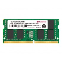 Оперативна пам'ять Transcend 16ГБ DDR4 2666МГц Non-ECC SODIMM (TS2GSH64V6B-I)