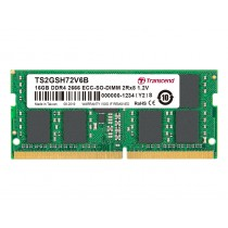 Оперативна пам'ять Transcend 16ГБ DDR4 2666МГц ECC SODIMM (TS2GSH72V6B)