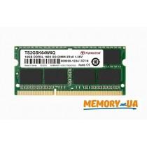Оперативна пам'ять DDR3 SODIMM 16GB 1600MHz (TS2GSK64W6Q)