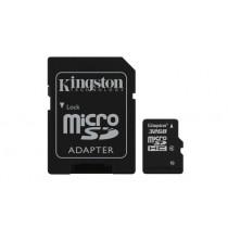 Картка пам'яті Kingston 32GB microSDHC (Class 4)  (SDC4/32GB)