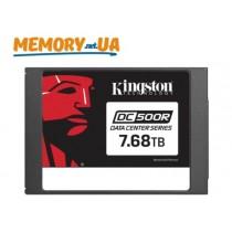 Серверний SSD накопичувач корпоративного рівня Kingston DC500R 7680GB (SEDC500R/7680G)