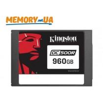 Серверний SSD накопичувач корпоративного рівня Kingston DC500R 960ГБ