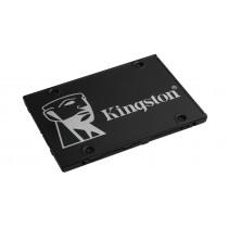 "SSD накопичувач Kingston KC600 256ГБ 2.5"" SATA III 3D NAND TLC (SKC600/256G)"