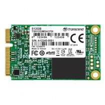 SSD накопичувач Transcend MSA370I 512ГБ mSATA MLC Промислового класу (TS512GMSA370I)