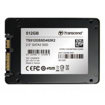 """SSD-накопичувач Transcend SSD452K2 512ГБ 2.5"""" SATA III - TS512GSSD452K2"""