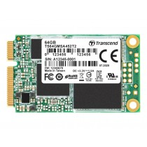 SSD-накопичувач Transcend MSA452T2 64ГБ mSATA SATA3 - TS64GMSA452T2