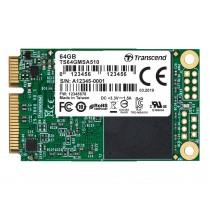 SSD накопичувач Transcend MSA510 64ГБ mSATA 570МБ/с 320МБ/с SATA III SuperMLC (TS64GMSA510)