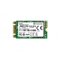 SSD накопичувач Transcend MTS530T-I 64ГБ M.2 Type 2242 500МБ/с 200МБ/с SATA III TLC 3D NAND (TS64GMTS530T-I)