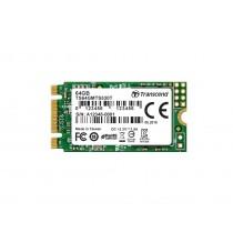SSD накопичувач Transcend MTS530T 64ГБ M.2 Type 2242 520МБ/с 360МБ/с SATA III TLC 3D NAND (TS64GMTS530T)