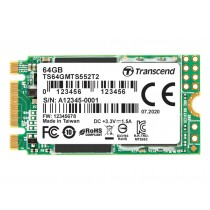 SSD-накопичувач Transcend MTS552T2 64ГБ M.2 SATA3 - TS64GMTS552T2