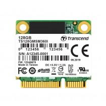 SSD-накопичувач Transcend MSM360 128ГБ SATA III mSATA 520МБ/с 220МБ/с MLC Промислового класу (TS128GMSM360I)