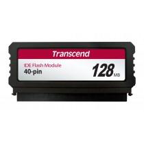 Модуль флеш-пам'яті (вертикальний) Transcend 128МБ IDE 40PIN SLC з SMI Промислового класу (TS128MPTM520)