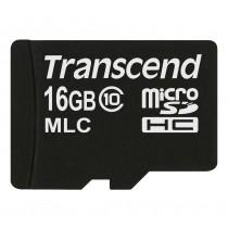Картка пам'яті Transcend 16ГБ microSDHC Class 10 24МБ/с 22МБ/с MLC Промислового класу (TS16GUSDC10M)