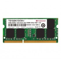 Оперативна пам'ять для серверу DDR3 ECC SODIMM 8ГБ 1333МГц Промислового класу (TS1GSK72V3H-I)