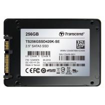 """SSD накопичувач Transcend SSD420K-SE 256ГБ 2.5"""" 570МБ/с 400МБ/с SATA III MLC TCG Opal Промислового класу (TS256GSSD420K-SE)"""