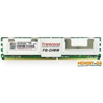 Оперативна пам'ять Transcend 2ГБ DDR2 667МГц CL5 2Rx8 FB-DIMM (TS256MFB72V6U-T)