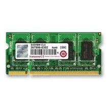 Оперативна пам'ять DDR2 SODIMM 2GB 667MHz (TS256MSQ64V6U)