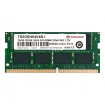 Оперативна пам'ять для ноутбуку DDR4 SODIMM 16ГБ 2400МГц Промислового класу (TS2GSH64V4B-I)