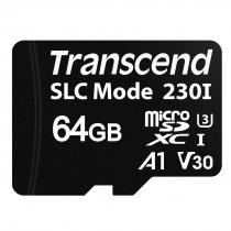 Картка пам'яті microSDXC Transcend 230I 64ГБ - TS64GUSD230I Промислового класу