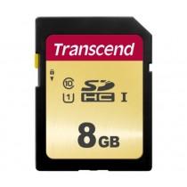 Картка пам'яті Transcend GSDC500S 8GB UHS-I U1 SD Card (TS8GSDC500S)